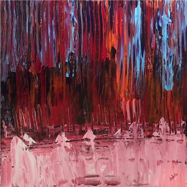 Art: falling drybrush1000 by Artist Diana DeAvila