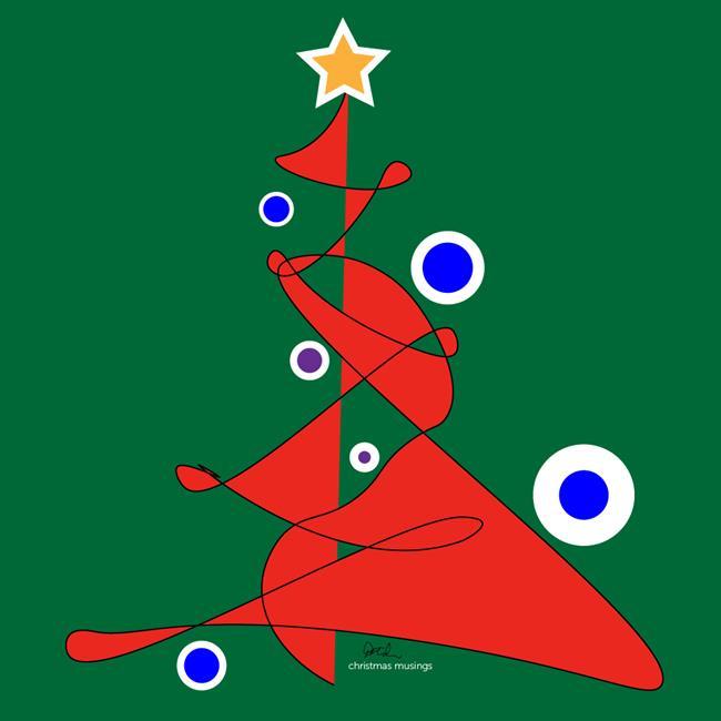 Art: christmasmusings1000 by Artist Diana DeAvila