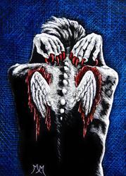 Art: Emerging  (SOLD) by Artist Monique Morin Matson