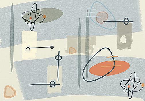 Art: Atomic Age by Artist Alma Lee