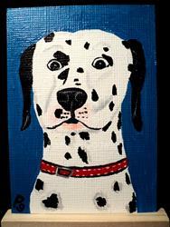 Art: Dalmation Dog by Artist Pamela Godwin Manning