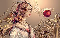 Art: Last Wave of Temptation by Artist Alma Lee