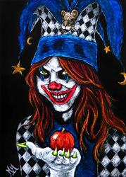 Art: An Apple My Dear by Artist Monique Morin Matson