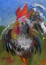 Art: Chicken No.2 by Artist Delilah Smith
