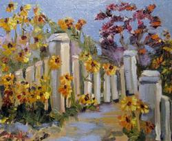 Art: The Garden Gate by Artist Delilah Smith