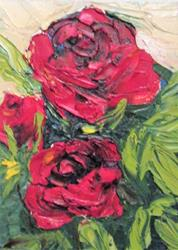 Art: Rose's are Red by Artist Delilah Smith
