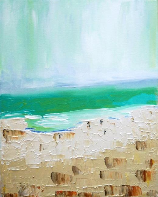Art: SEA VIEW by Artist LUIZA VIZOLI