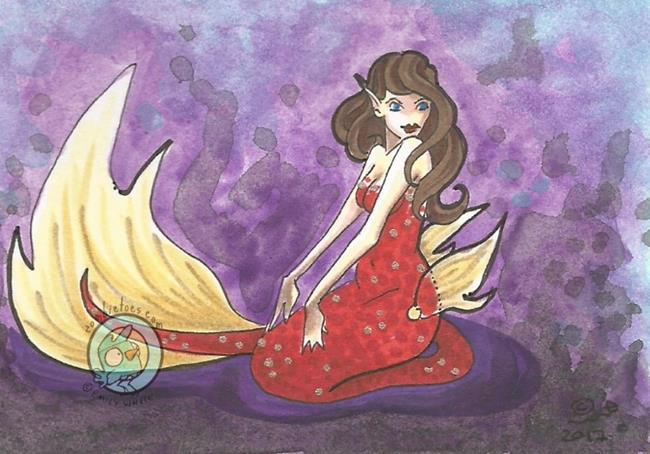 Art: Claudia by Artist Emily J White