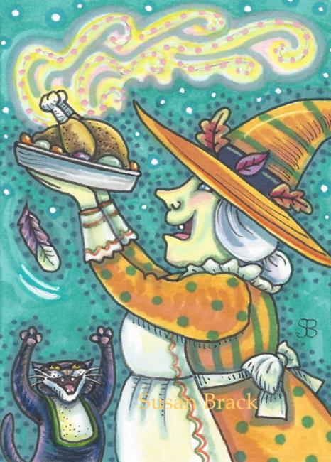 Art: FEAST FOR THE DAY by Artist Susan Brack