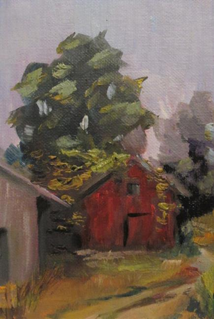 Art: Landscape No. 10 ,Plein Air by Artist Delilah Smith