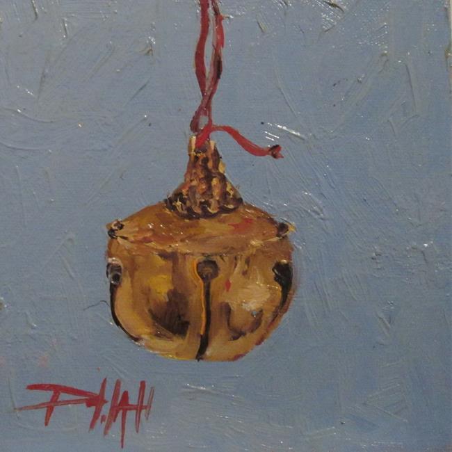 Art: Gold Bell by Artist Delilah Smith