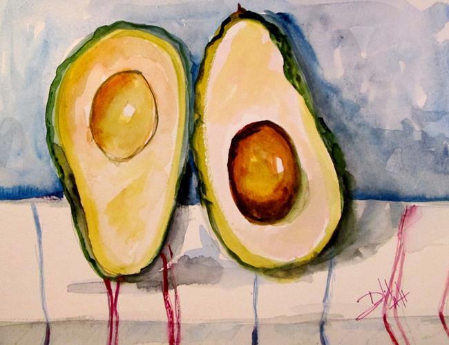 Art: Avocado No. 3 by Artist Delilah Smith