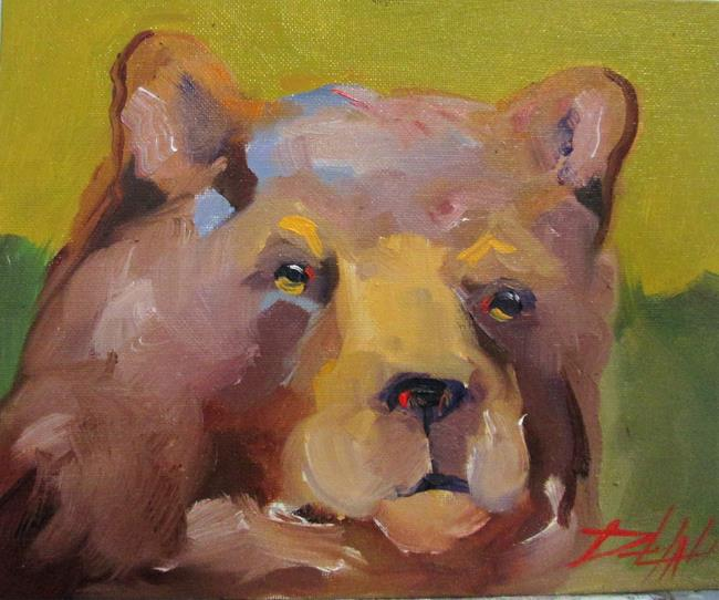 Art: Brown Bear by Artist Delilah Smith