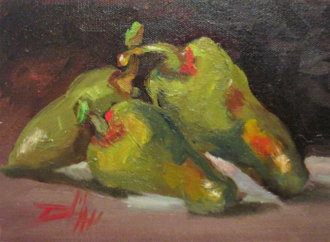 Art: A Few Hot Ones,Jalapeno by Artist Delilah Smith