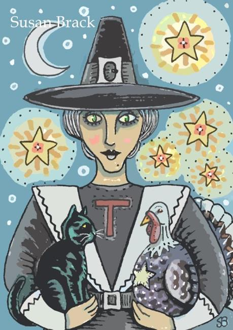 Art: A SALEM THANKSGIVING by Artist Susan Brack
