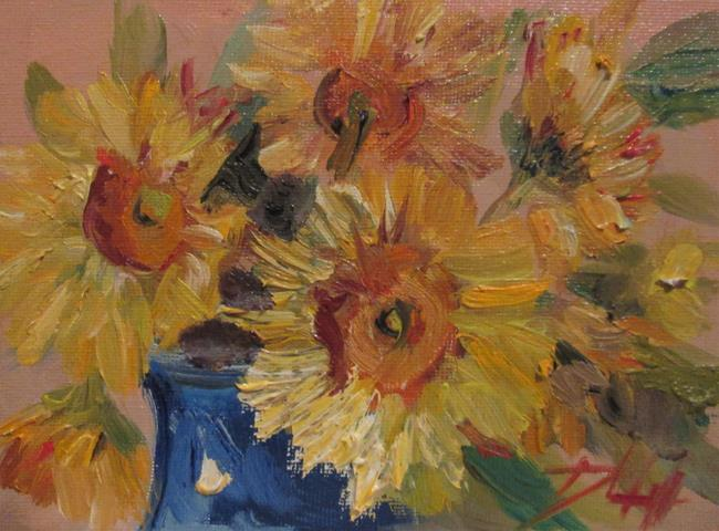 Art: Yellow Daisy by Artist Delilah Smith