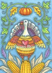 Art: SHADES OF THANKSGIVING by Artist Susan Brack