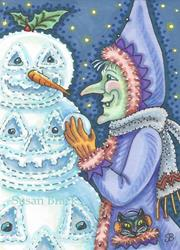 Art: WITCH'S SNOW JACK by Artist Susan Brack