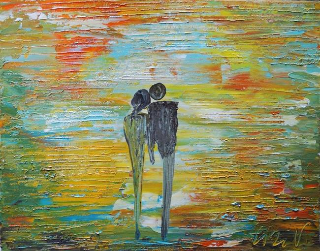 Art: SUNSET ROMANCE by Artist LUIZA VIZOLI