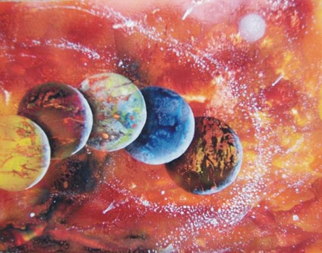 Art: Spray Paint Art by Artist Leonard G. Collins