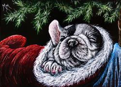Art: Stocking Stuffer by Artist Monique Morin Matson