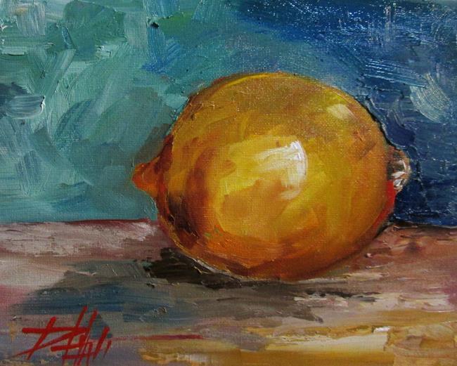Art: Lemon No. 2 by Artist Delilah Smith