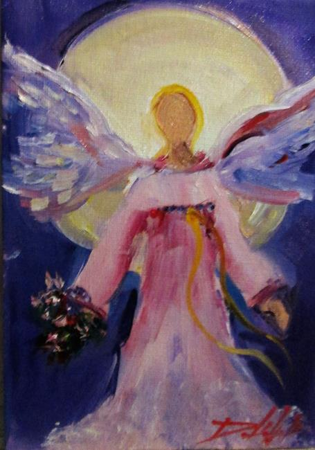 Art: Angel No 5 by Artist Delilah Smith
