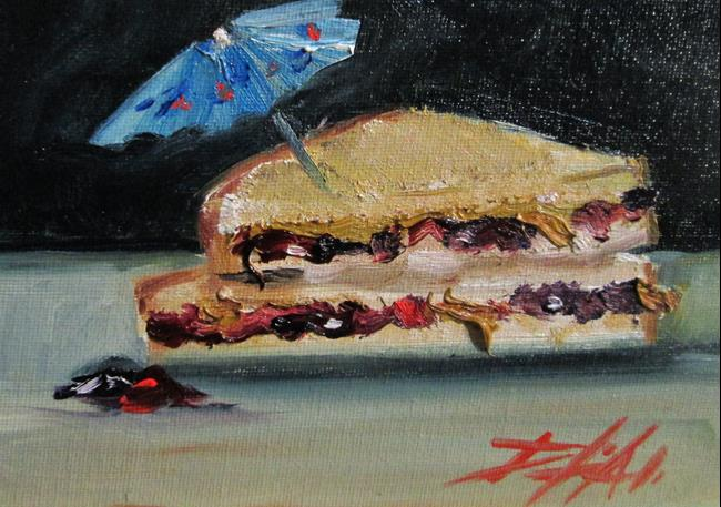 Art: Peanut Butter and Jelly No.3 by Artist Delilah Smith