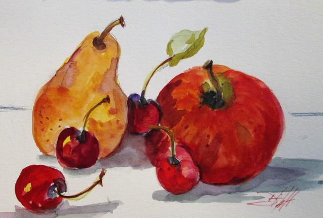 Art: Fruit Still Life by Artist Delilah Smith