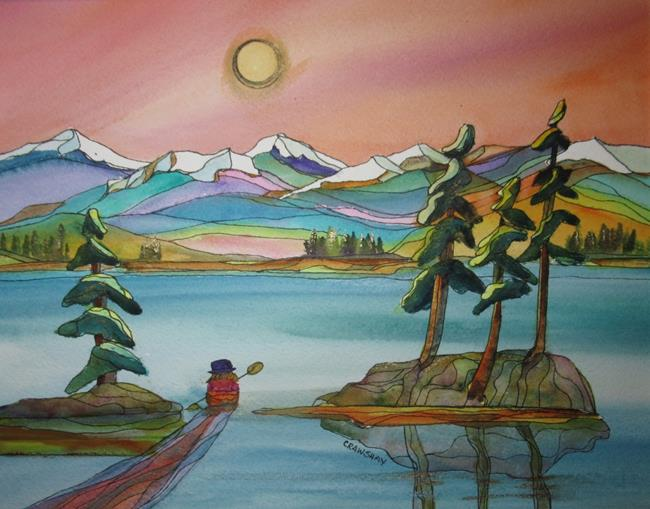 Art: Peace In the Heart by Artist Kathy Crawshay