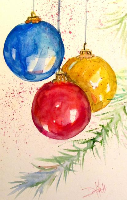 Art: Ornaments-sold by Artist Delilah Smith