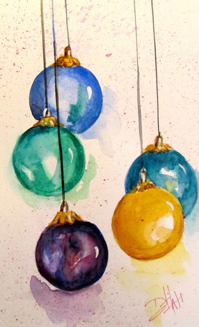 Art: Ornaments No. 2-sold by Artist Delilah Smith