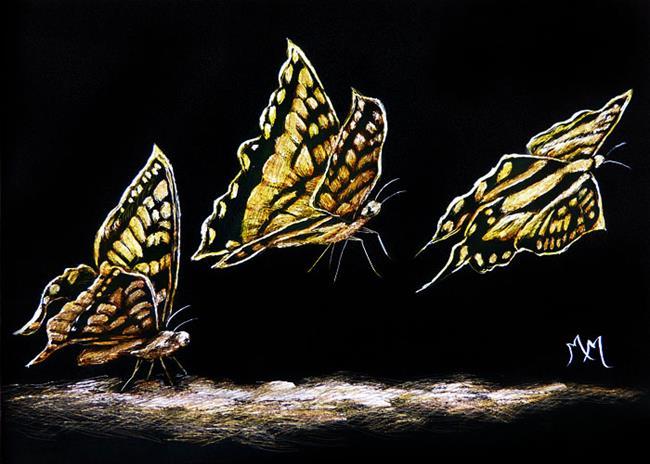 Art: Lift Off  (SOLD) by Artist Monique Morin Matson