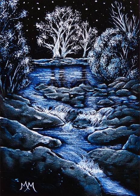 Art: Serenity  (SOLD) by Artist Monique Morin Matson
