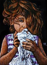 Art: Peace Offering by Artist Monique Morin Matson