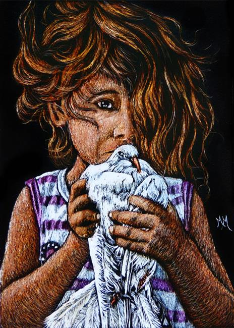 Art: Peace Offering  (SOLD) by Artist Monique Morin Matson