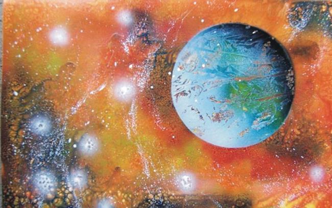 Art: Spray Paint Art by Leonard G. Collins by Artist Leonard G. Collins