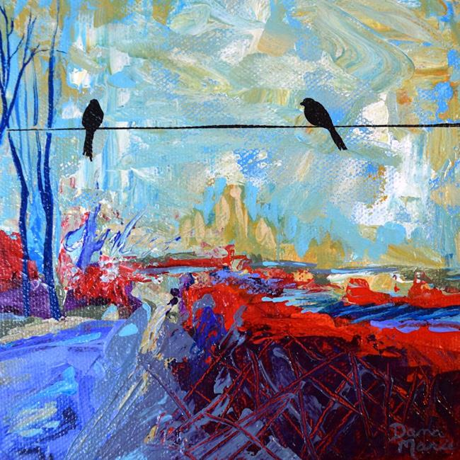 Art: The Road Less Traveled (2) - Sold by Artist Dana Marie