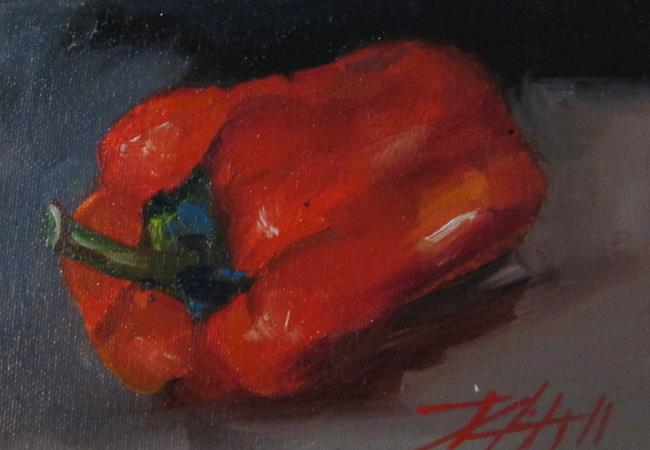 Art: Red Pepper No.4 by Artist Delilah Smith