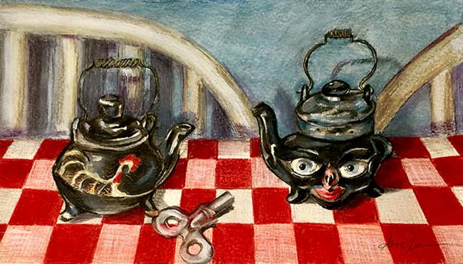 Art: Salt and Pepper by Artist Alma Lee