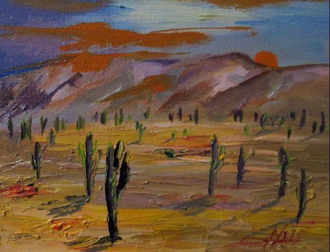 Art: Desert High Country by Artist Delilah Smith