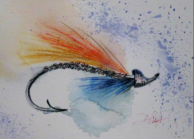 Art: Micky Finn Fishing Lure by Artist Delilah Smith