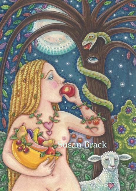 Art: FRUITS OF EDEN by Artist Susan Brack