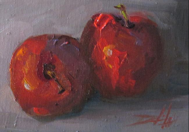 Art: Apples No.7 by Artist Delilah Smith