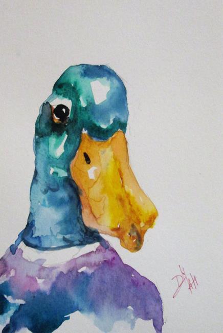 Art: Mallard by Artist Delilah Smith
