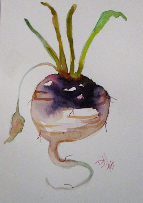 Art: Turnip by Artist Delilah Smith