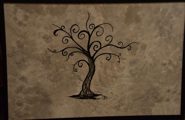Art: #CherelleArt Love Tree by Artist Cherelle Art