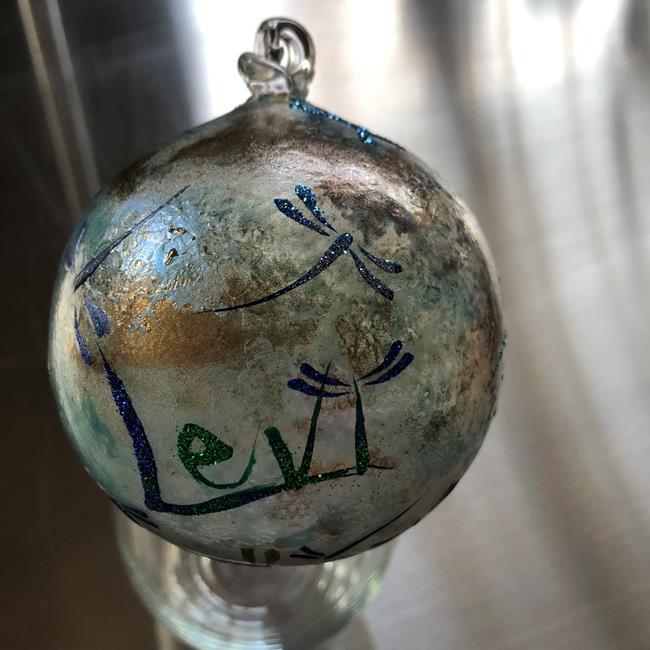 Art: Levi's Dragonfly Ball 2017 by Artist Rebecca M Ronesi-Gutierrez