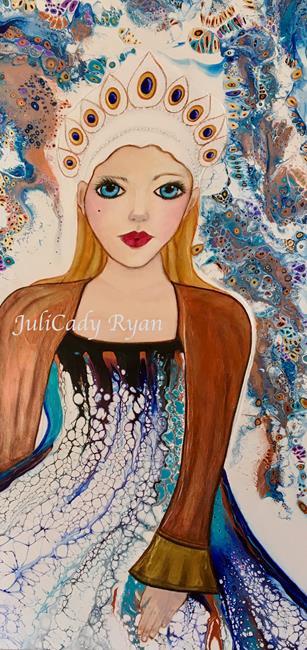 Art: Fierce by Artist Juli Cady Ryan