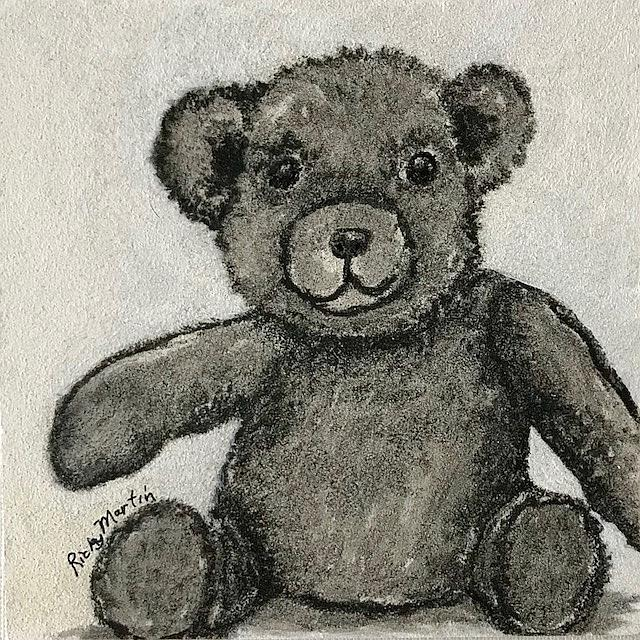 Art: Teddy - sold by Artist Ulrike 'Ricky' Martin